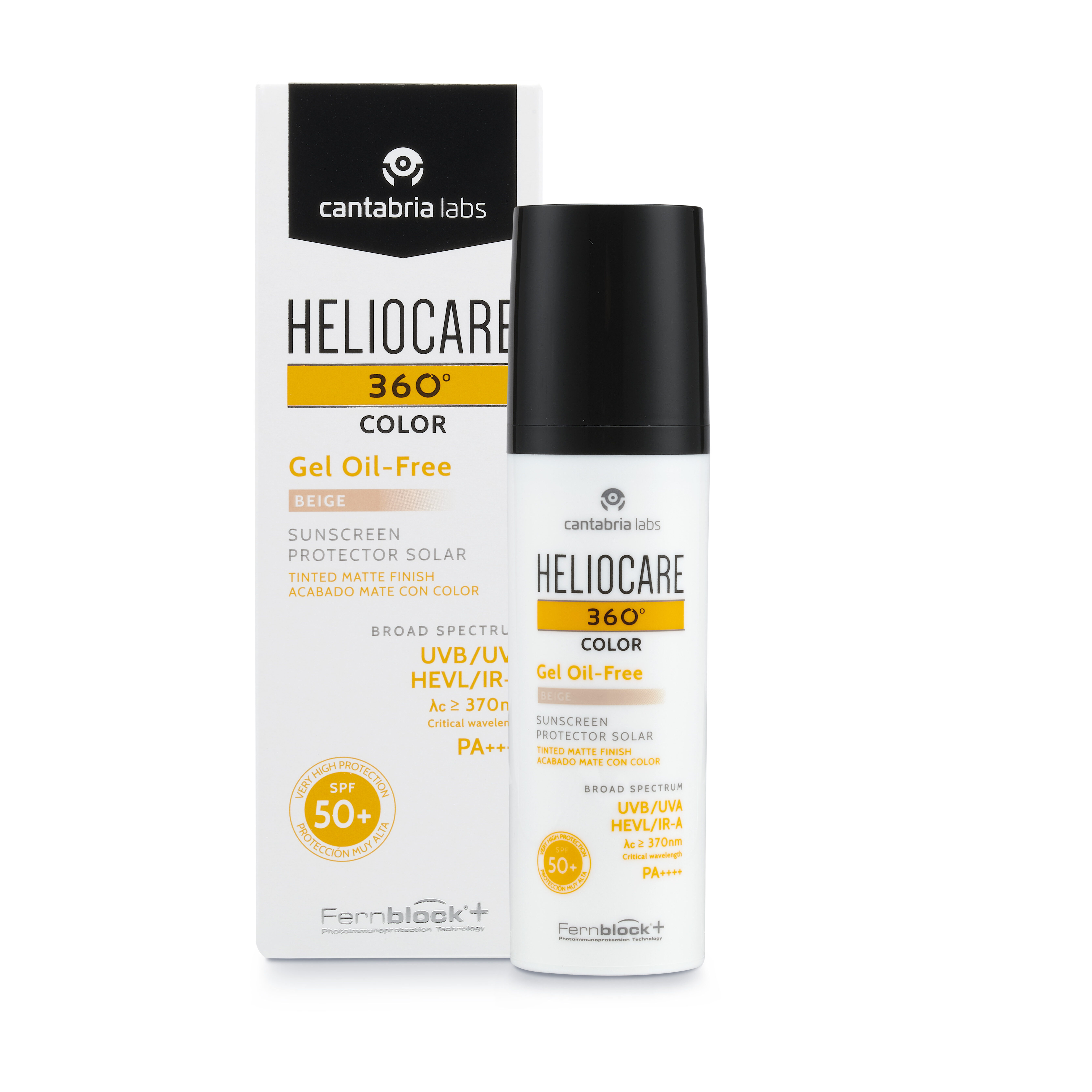 Heliocare 360º Color Gel Oil Free Beige SPF50+ 1