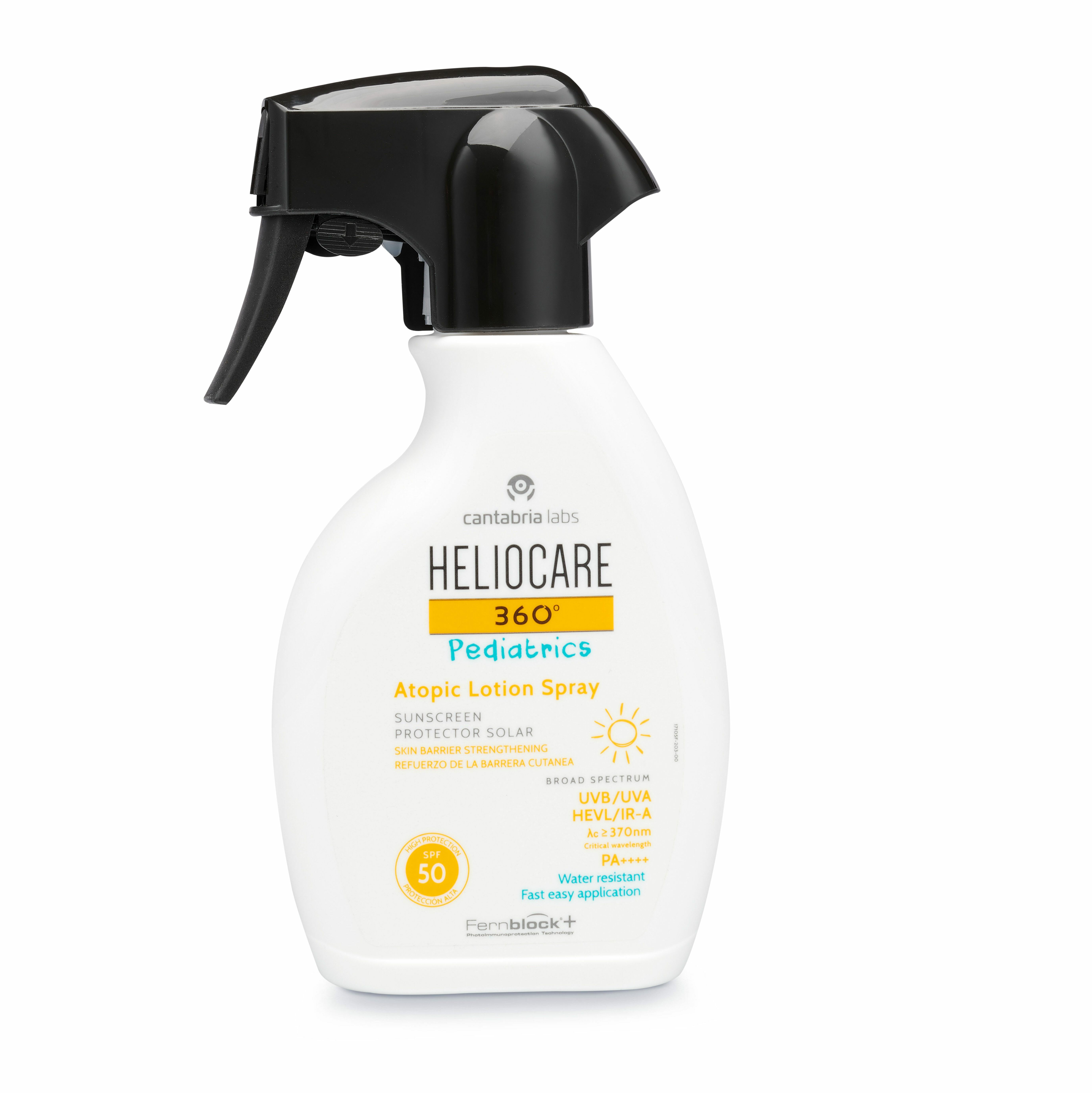 Heliocare 360º Pediatrics Atopic Lotion Spray SPF 50
