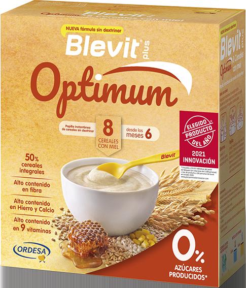 Blevit plus Optimum 8 Cereales con Miel